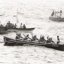 Il Venezia ha appena vinto il Palio Marinaro 1979.