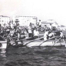 Il Pontino vince il Palio Marinaro del 1966.