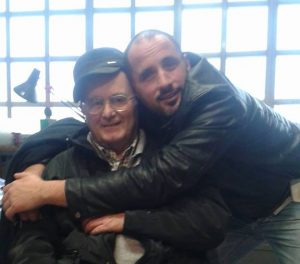 Alessio Marra insieme al suo amico Alberto Lemmi, storico dirigente del Pontino