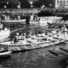 1983, prima Barontini in notturna: il gozzo del Borgo Cappuccini.