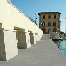 Il progetto di riqualificazione delle cantine sugli Scali Novi Lena.