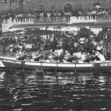 Il Venezia vince la prima Barontini in notturna, quella del 1983.