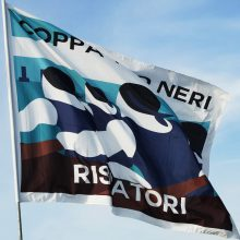 La bandiera della Coppa Risiatori