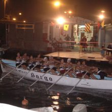 Passaggio del Borgo davanti alla cantina del Venezia alla Coppa Barontini del 2006.