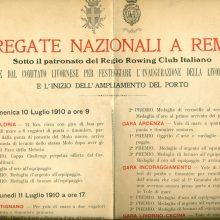 Celebrazioni per l'inaugurazione della linea ferroviaria Livorno-Cecina, 1910.