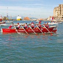 L'armo del Venezia in azione. Coppa Risiatori 2017 - ph Marco Filippelli
